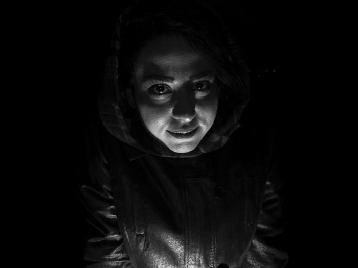 B&W Portrait Nightphotography Night Lights Night View Portrait Black And White Monochrome People Photography People Of EyeEm Light And Shadow
