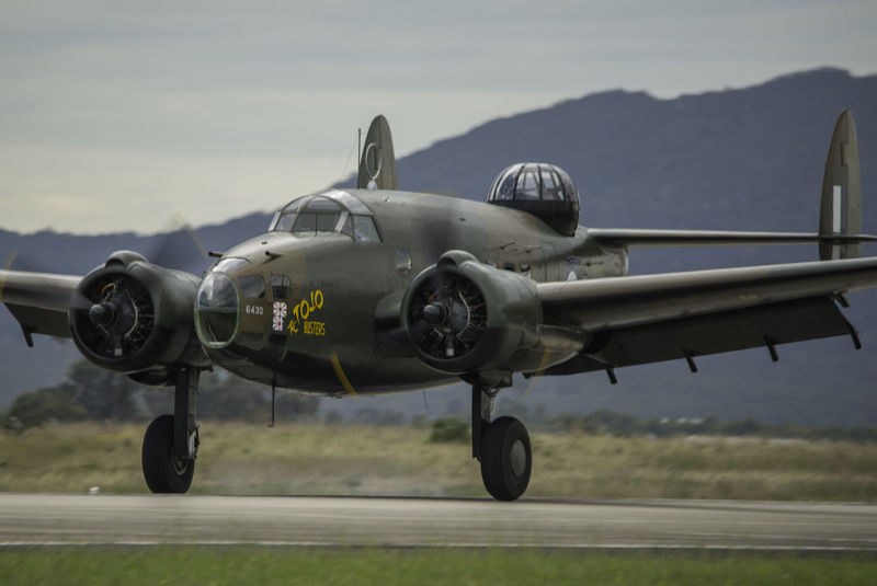 Lockheed Lockheed Ventura RAAF Royal Australian Air Force Air Vehicle Airplane Day Fighter Plane No People Outdoors Propeller Radial Sky Transportation