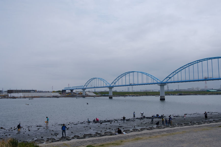 妙典/Myoden Bridge Edogawa Fujifilm FUJIFILM X-T2 Fujifilm_xseries Japan Japan Photography Myoden River Riverside Tozai Line X-t2 妙典 日本 東西線 江戸川 鉄橋