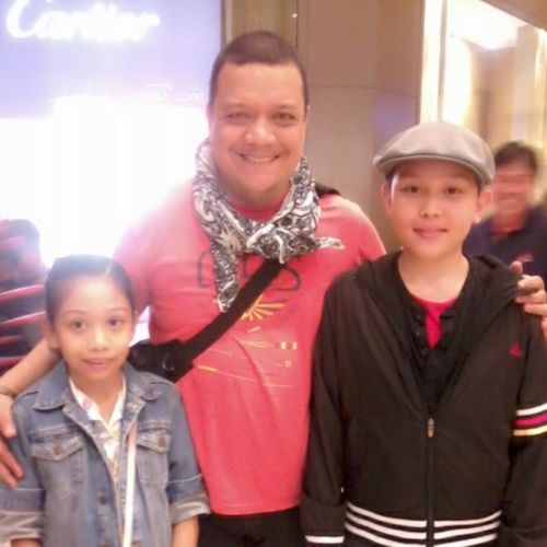 Ethan jay and ashanti with Mitoy of TheVoiceOfThePhilippines