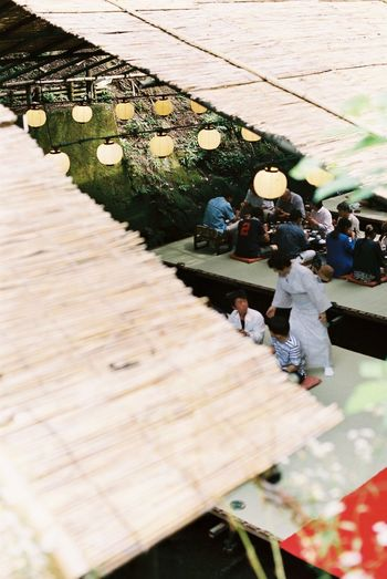 Boardwalk Calm Close-up Day Focus On Foreground Japan Kibune Kimono Kyoto Laisure Leisure Activity Lifestyles Nature Nature Outdoors Part Of River Riverside Rural Selective Focus Summer Wood - Material Wooden