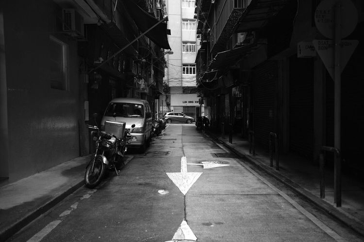 Fine Art Photography EyeEm Best Edits Architecture Street City Road City Life Bicycle Photography Themes Street Light Motion Light Trail Road Bnw Lifestyles