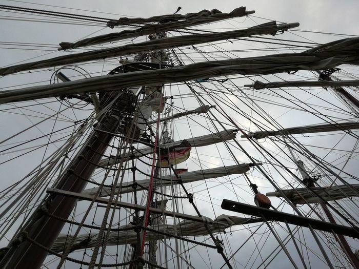 No wind today Honor9lite Kieler Woche Kiel Week Historic Ship Historic Harbour Kiwo Baltic Sea Sailing Ship Tall Ship Mast Nautical Vessel Rigging Backgrounds Sky Sailing Regatta