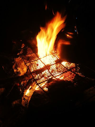 Outdoor Flame Magic Chile Nature Beauty In Nature
