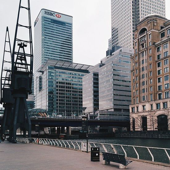 VSCO Vscocam London Canarywharf