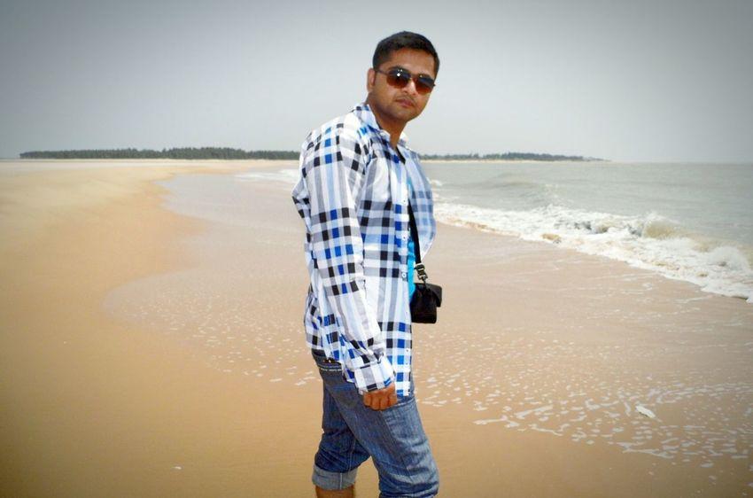 That's Me Beach Enjoying Life Beach Life Digha Bay Of Bengal