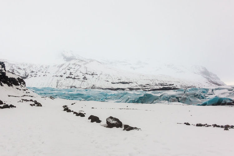 Svinafellsjokull glacier view during winter snow in Iceland Svínafellsjökull Svínafellsjökull Glacier Iceland Icelandic Winter Winter Wonderland Winter Sport Vatnajökull Vatnajökull Glacier, Iceland Vatnajökull-Nationalpark