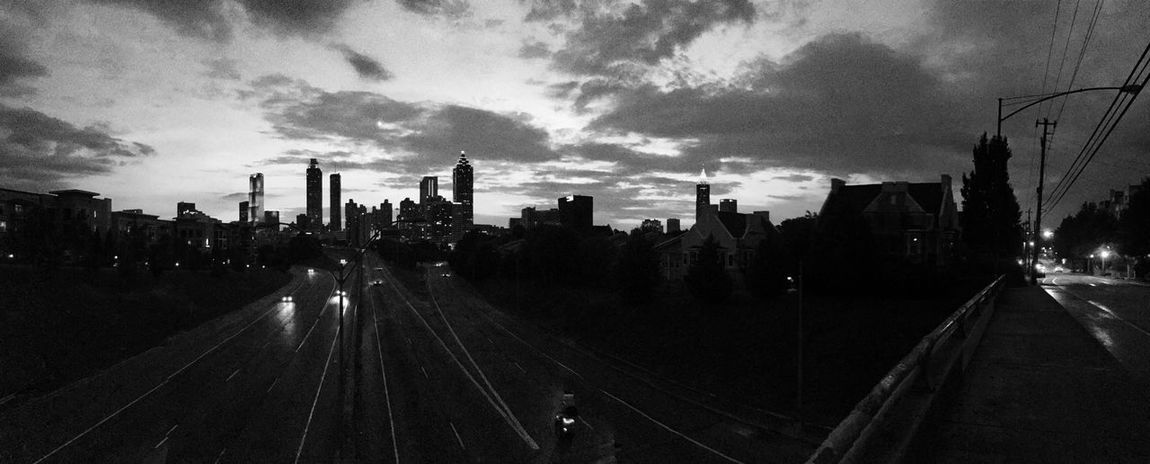 Atlanta City Views Skyline B&w Photography Panoramic EyeEm Best Shots EyeEm Gallery