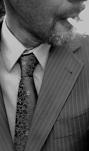Mensfashion Menswear Sexyman Handsome Suit And Tie Smoking Cigarette  Goatee Man Black Tie Pinstriped Suit Black And White Well Dressed ManBlack And White Photography The Street Photographer - 2016 EyeEm Awards