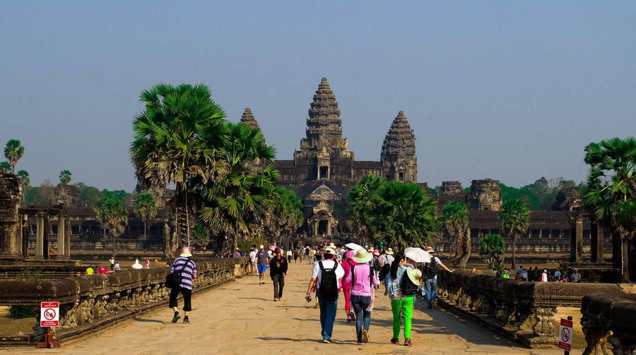 Here we come! Angkor wat at Siamreap Cambodia Architecture Travel Destinations Tree Built Structure People Large Group Of People Building Exterior Day Sky Outdoors Adult Adults Only Architecture Angkor Wat, Cambodia Angkor Wat Ancient Civilization Stone Material Landscape Beauty In Nature Sky UNESCO World Heritage Site Ancient Temple - Building Hinduism History Landscape Siamreap Second Acts