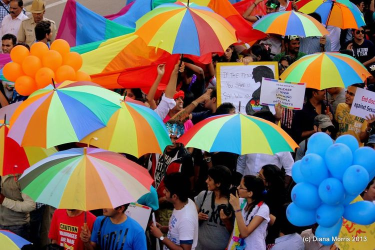 Abundance City Life Colorful Day Full Frame Group Of Objects Multi Colored Outdoors Person Pride March Pride Parade Protection Rain Retail  Sunshade Tourism Umbrella Unity Is Vision. Variation