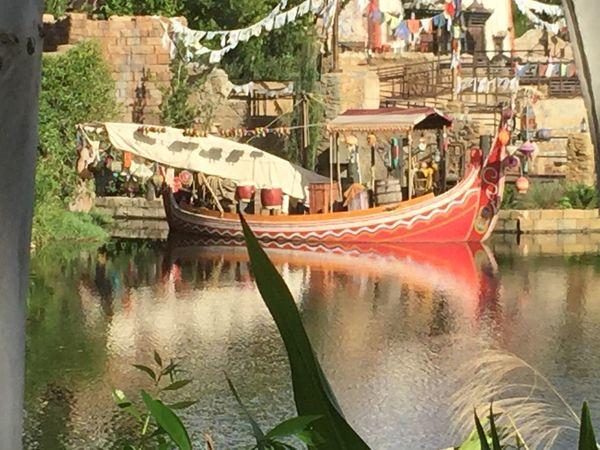 Animal Kingdom at Walt Disney World Animal Beauty Beauty In Nature Boat Day Prayer Flags  Sky Tiger