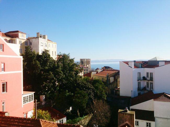 Lisboa Rooftops Tejo Lisbon