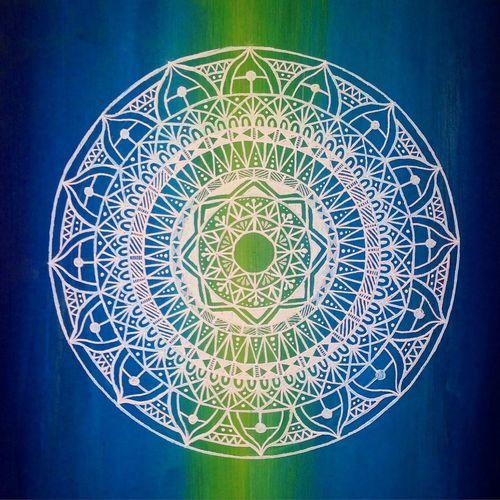 繋 曼荼羅 マンダラ Mandala Mandalas Art My Art Work Earth Drawing Nature YohkoAmaterraArt
