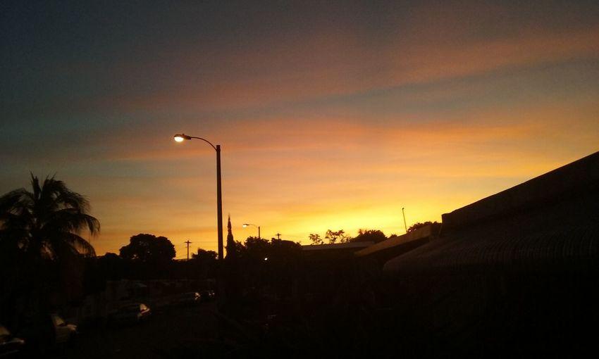 Beautiful sunrise in my home town i hope you like it First Eyeem Photo
