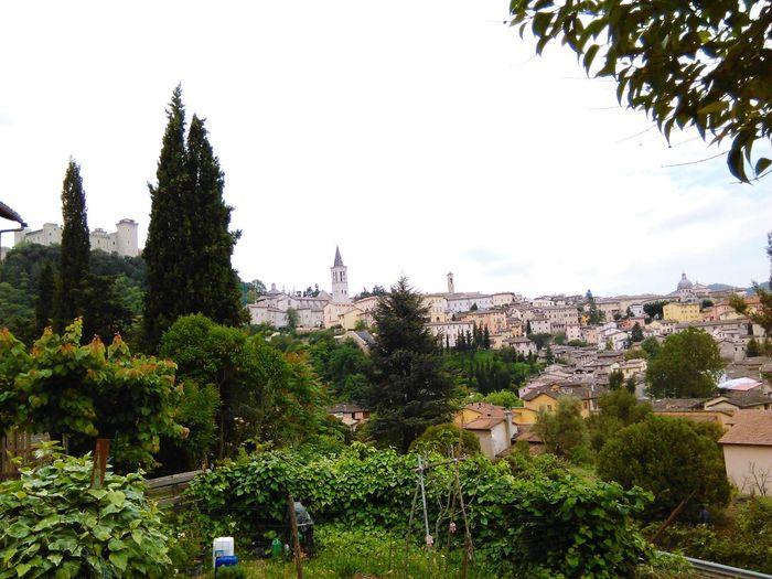 a view from Spoleto Spoleto-Umbria <3