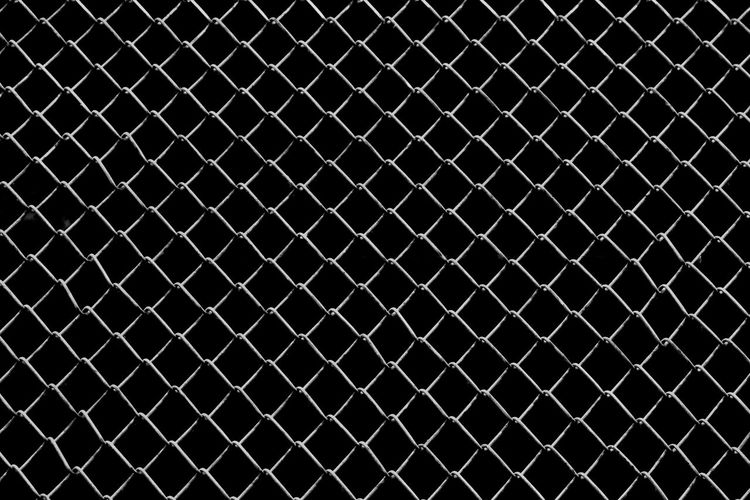 Backgrounds Barrier Boundary Chainlink Fence Close-up Crisscross Day Fence Full Frame Grate Grid Indoors  Metal No People Pattern Protection Repetition Safety Security Textured