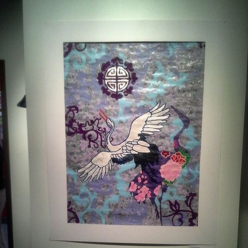 Favourite Works DPS Student Show: Flight by Celanese Robinson Crane Student_art