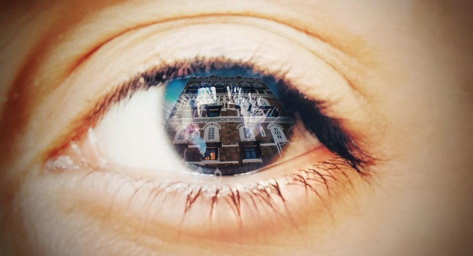 Close-up One Person Eyesight Human Body Part Human Eye Full Frame People