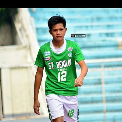 @miguelartillera ⚽⚽⚽ . . . NCAA Ncaa90 Ncaaseason90 CSBvsSBC LSGH Greenies lasalle onelasalle sbspotlight soccerbible juniors football themanansala