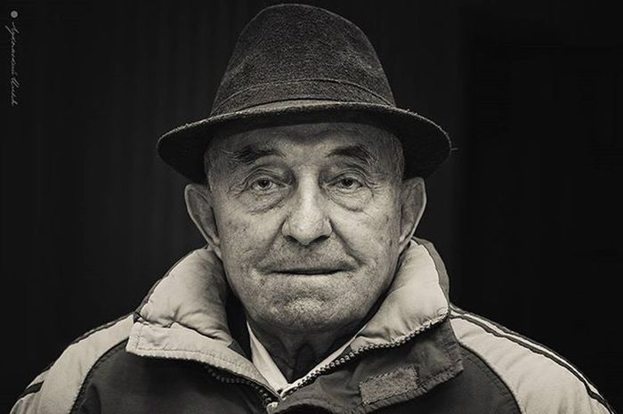 Old Wrinkles Oldman Hat Smile Look Eyes Wisdom Portrait Blackandwhite Monochrome Photo Nikon Nikon_photography_