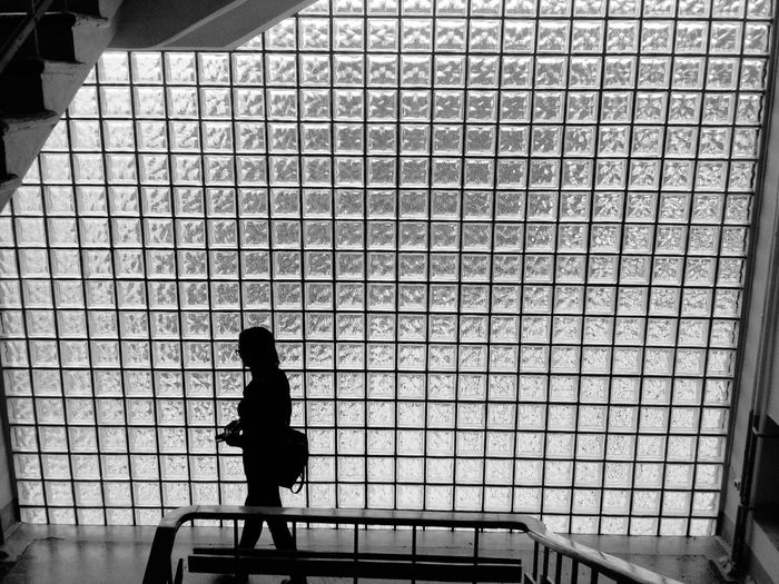Welcome To Black One Woman Only People Women Black And White Only Women Architecture One Person The People Girl Minimalism The Week On EyeEem The Architect - 2017 EyeEm Awards