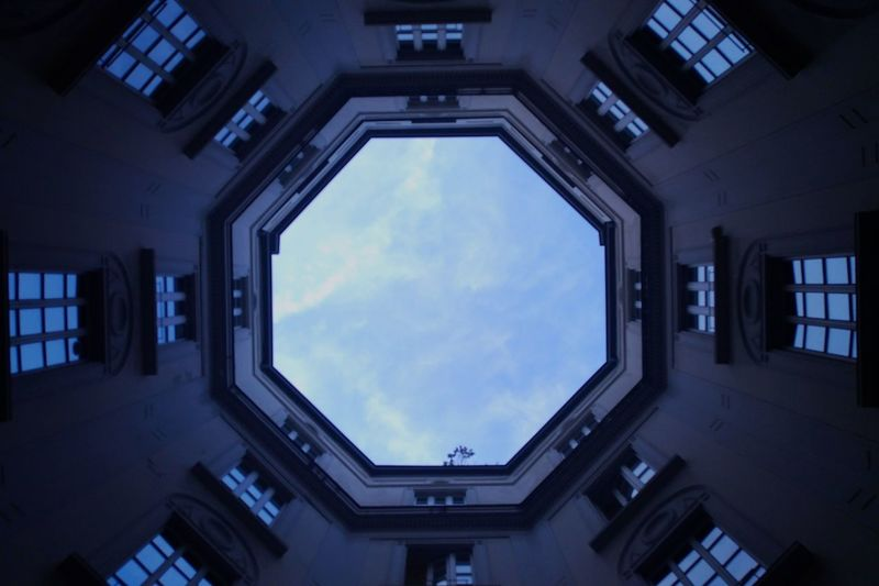Sky Architecture Building Buildings & Sky Building Interior Windows Backgrounds EyeEmNewHere