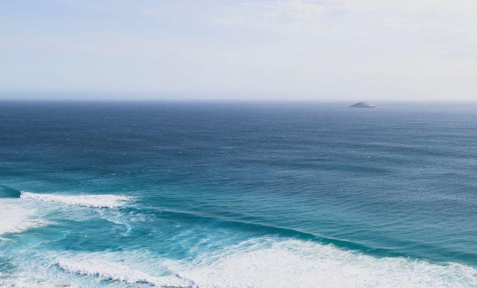 calm sea Idyll Western Australia Island Australia Ocean Sea Water Horizon Over Water Horizon Beauty In Nature Sky Scenics - Nature Nature Tranquility Tranquil Scene Turquoise Colored Idyllic Outdoors Blue
