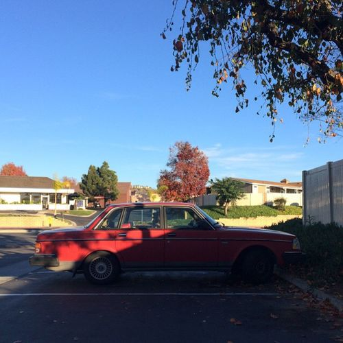 Still runnin' Volvo Volvocars Red Classic