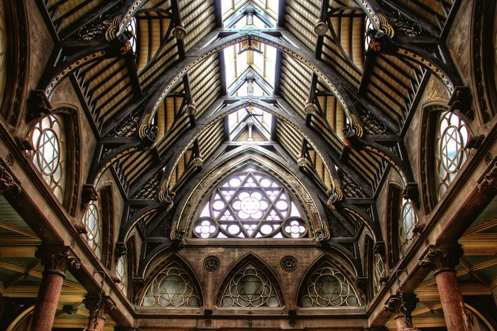 Architecture History Bradford Yorkshire Bookstore Roof