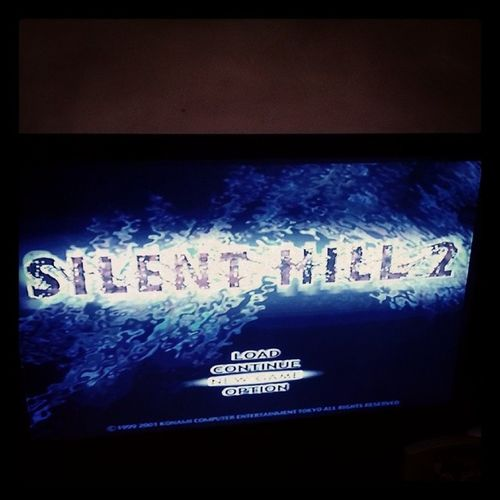 It begins SilentHill Silenthilltwo Playstation Ps halloween scary best