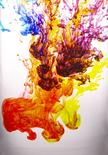 Ink in a Water
