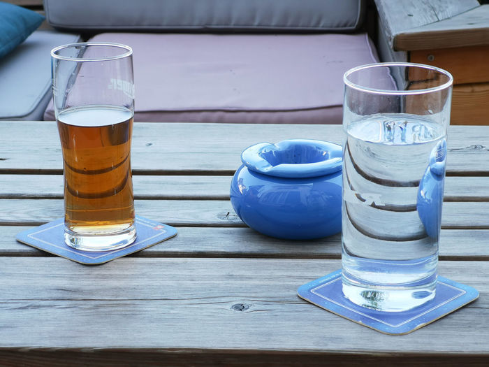 Drinks Freshness Reflection Relaxing Bar Close-up Day Drink Drinking Drinking Glass Enjoyment Focus On Foreground Food And Drink Glass Glass - Material Outdoors Refreshment Relaxing Time Restaurant Still Life Table Transparent Wood - Material