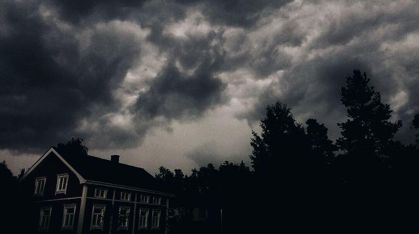 Nature Summer Sony Xperia Z3 Finland Scandinavia Landscape Allabouttheshot Sky Clouds Rainy