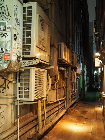 Architecture Blade Runner Building Exterior Built Structure Cityscape Dodgy  Electricity  Futuristic Illuminated Megalopolis Narrow Street Night No People Outdoors Post Modern Technology Uraban