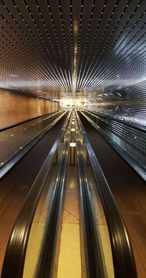 Last one of the series. Promise 😉 Washington, D. C. National Gallery Of Art Tunnel Close-up Patterns Lines Vanishing Point Lights The Way Forward Illuminated Built Structure Architecture Futuristic Indoors  Technology Symmetry No People Day Mobility In Mega Cities