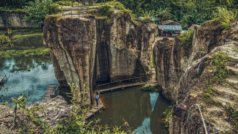 Godzilla Tangerang Travel Cliff Destination Koja Mining Outdoor Photography Tebing Tourism