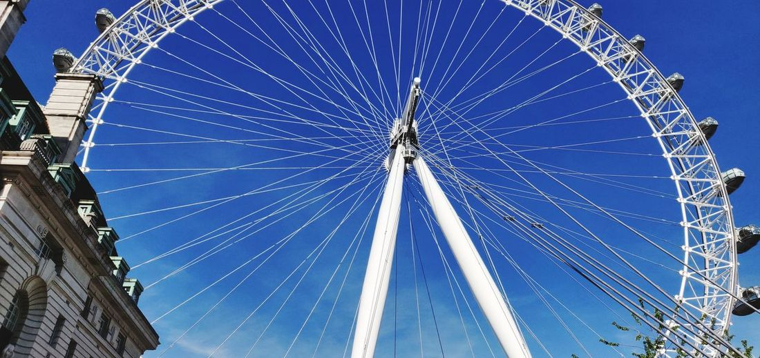 London Eye Oneplus6photography Photowalktheworld Mobilephotography London London Eye London Eye, London Clear Sky Blue Amusement Park Ferris Wheel Arts Culture And Entertainment City Sky Concentric Big Wheel