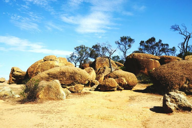 The Great Outdoors With Adobe West Australia Rocks Sky Wideworld