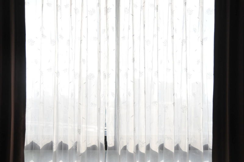 Close-up Curtain Day Drapes  Indoors  Nature No People White Color Window