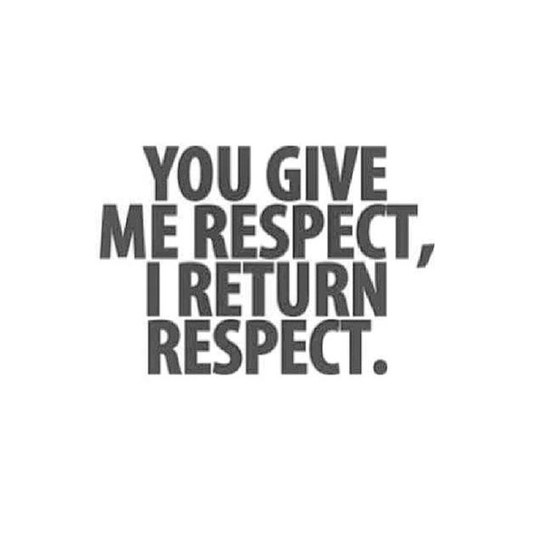 Sick of being disrespected...in more ways than one..OKE