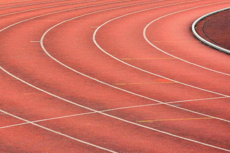 Full frame shot of sports track