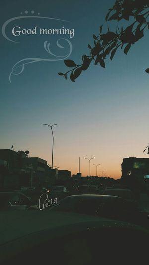 شارع دبي Hello World Good Morning By My Cam ☺