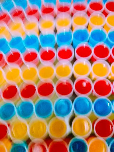 Infiniti colors Blur Desenfocado Gelatina Food Colors Watercolor Paints Palette Colorful Powder Paint