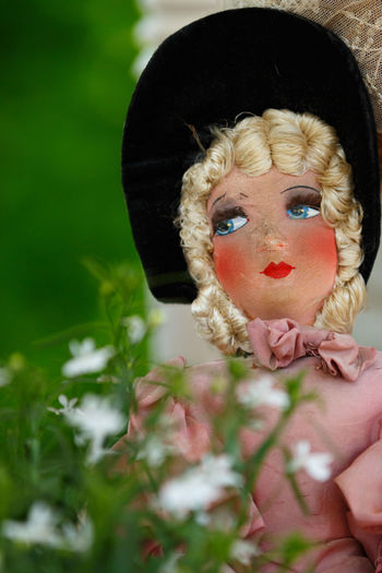 Beautiful antique doll from France with nostalgic look in her eyes Blue Eyes Collecting Doll Dreaming EyeEmNewHere Memories Paris Romantic Antique Doll Blond Hair Blonde Girl Charming Collectors Item Girl And Flowers Nostalgic  Poupee De Salon Pretty Girl Romantic Doll Rose Color Shabby Chic Shabby Chic Home Decor Very Pretty Antique Doll