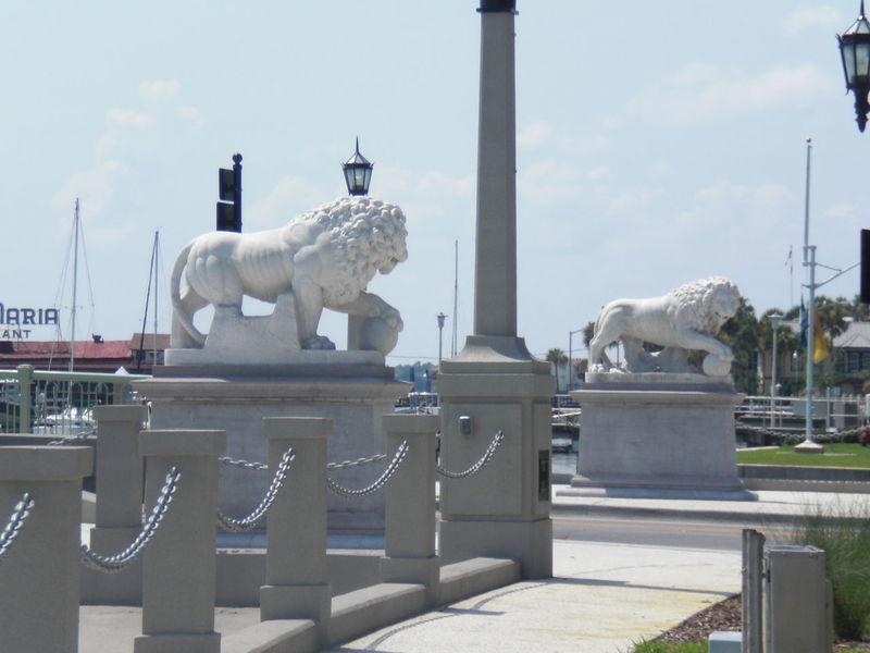 Day Lions Lions Bridge Lionsgatebridge No People Outdoors Sky St Augustine, FL