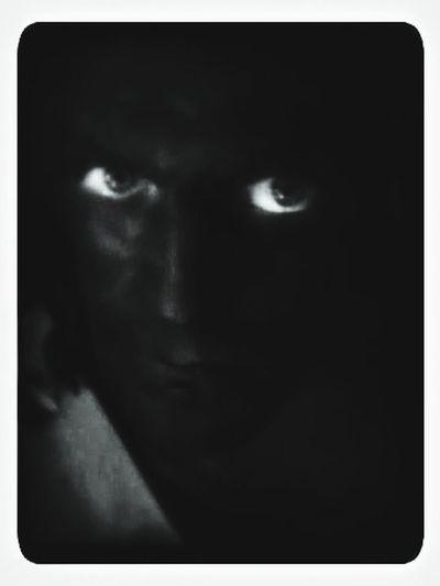 The Portraitist - 2014 EyeEm Awards Black And White Portrait EyeEm Black&white! Got Painted