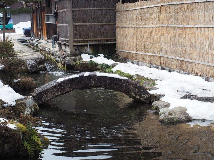 白川郷の雪解け水 Taking Photos Olympus OM-D E-M5 Mk.II E-M5 Mark2 World Heritage UNESCO World Heritage Site Water