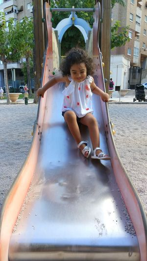 Slide, child, girl only ,fun, have fun,funny,swings park
