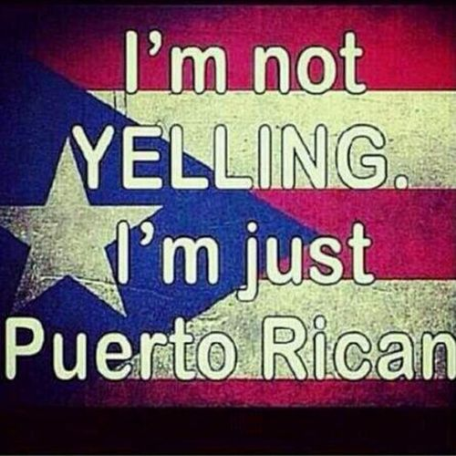 Self Explanitory #PuertoRican #Black .... Gotta Love It ♥♥